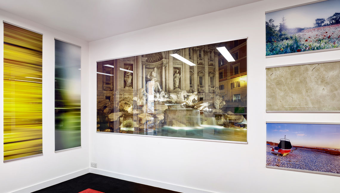 Images Printed on Glass