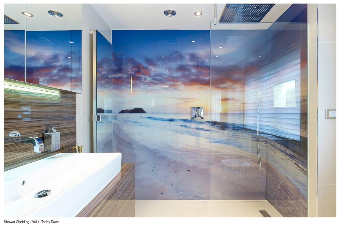 Seascapes Printed on Glass